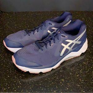 ASICS Gel Foundation running shoes. Navy Blue 13